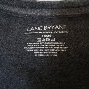 Lane Bryant Tops - LANE BRYANT NWOT  RHINESTONE  NECKLINE SHIRT
